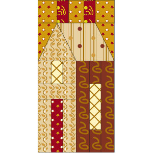 House Block 300px House (Quilts) Beautiful