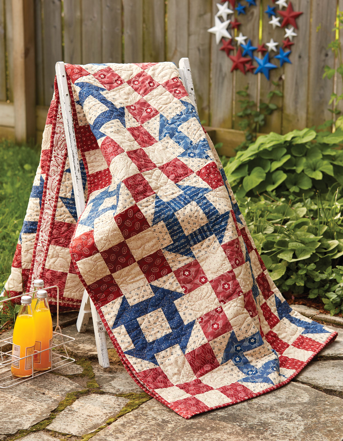 House Divided Quilt - Fons & Porter - The Quilting Company : house patterns for quilts - Adamdwight.com