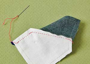 Free Hand Piecing Lesson for Quiters