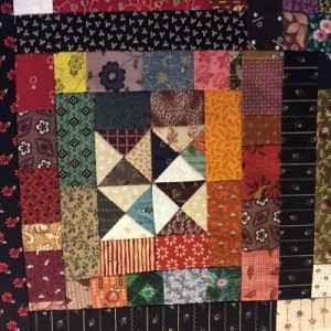 IMG 0424 opt 300x300 QM Scrap Squad: Bonnie Hunter Log Cabin Sampler