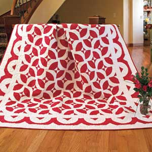 Infinite Possibilities: Red & White Classic Block Variation Quilt ... : red and white quilt patterns - Adamdwight.com