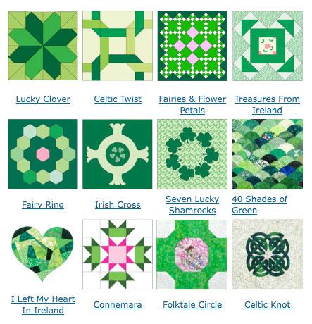 Friday Free Quilt Patterns Irish Quilt Block Patterns