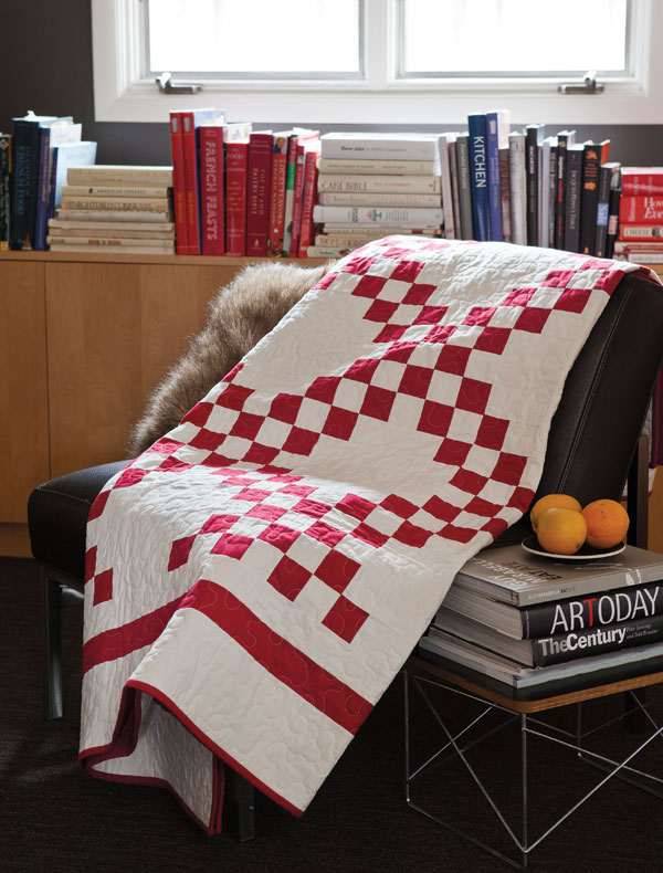 BLOCK Friday: Red and White Quilts - Fons & Porter - The Quilting ... : red and white quilt - Adamdwight.com