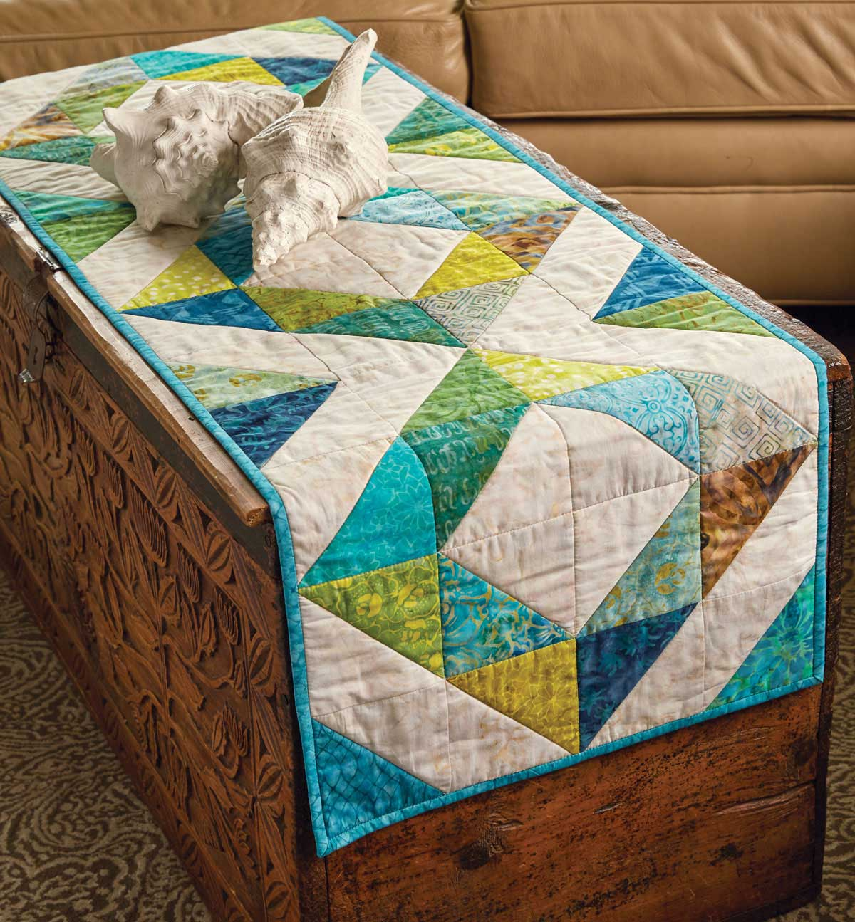 Island Chain Quilt - Fons & Porter - The Quilting Company : fons and porter quilt kits - Adamdwight.com