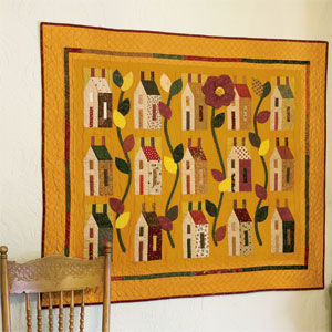 It Takes a Village 300px 13150 House (Quilts) Beautiful