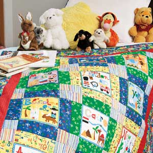 Its a kids world reversible map and city block quilt for its a kids world reversible map and city block quilt for children by heidi pridemore gumiabroncs Images