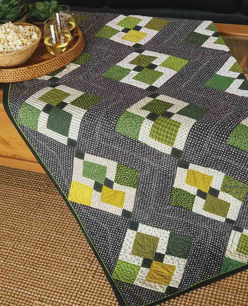It S Easy Being Green Quilt Fons Amp Porter The Quilting