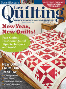 Love of Quilting - January/February 2016