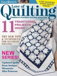 Love of Quilting January/February 2015