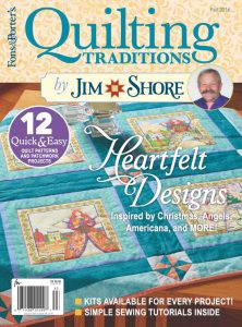 Quilting Traditions Fall 2016 Cover