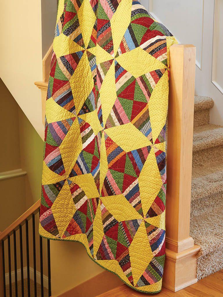 BLOCK Friday: Kaleidoscope Quilt Blocks - Fons & Porter - The ...