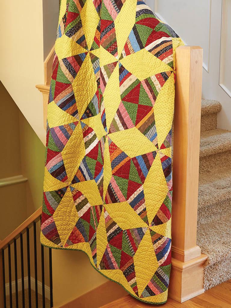 BLOCK Friday: Kaleidoscope Quilt Blocks