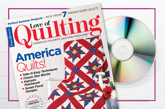 Love of Quilting TV - Series 3100 Subscription Offer