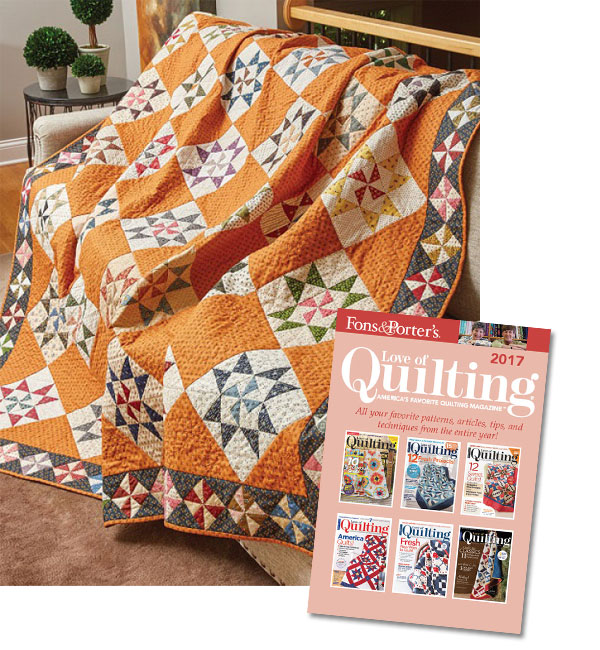 Fons & Porter Love of Quilting 2017 Collection CD