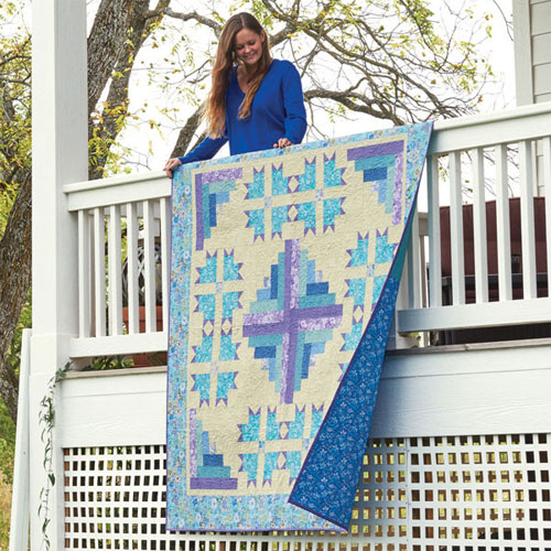 Love of Quilting Cabins of Carolina Quilt Kit