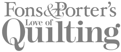 Fons & Porter Love of Quilting - Logo
