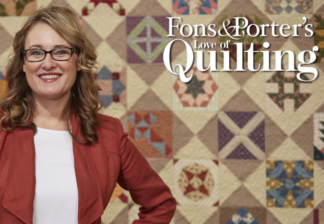 Fons & Porter Love of Quilting TV