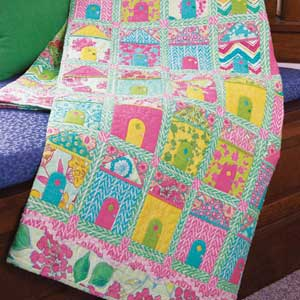 LadysSlipperCottages300px House (Quilts) Beautiful