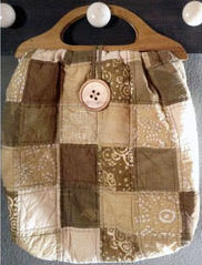 LargePatchBag Beach Bag, Toy Bag, Game Bag, Project Bag, Grocery Bag or Tote Bag. Quilt it!