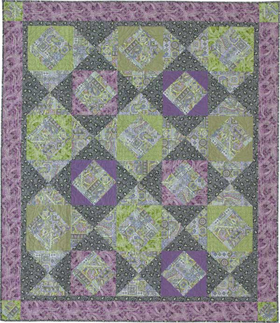 Friday Free Quilt Patterns Lavender Sage Queen Size Mccalls
