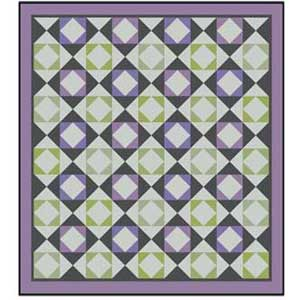 Free Quilt Patterns Queen Size Bed : Lavender & Sage: FREE Queen Size Quilt Pattern - The Quilting Company