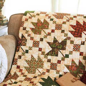 Quilt Design Galleries - The Quilting Company : leaf quilts - Adamdwight.com