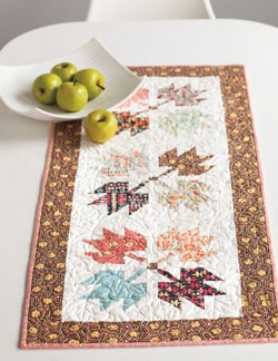 Leafy Tree Tops Quilt
