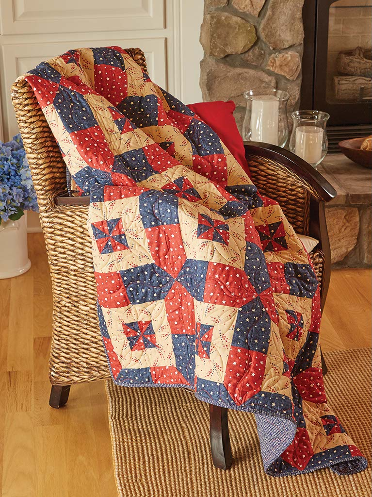Liberty And Justice Patriotic Quilting Pattern From Fons