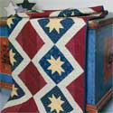 Liberty Starshine: Traditional Patriotic Lap Quilt Pattern