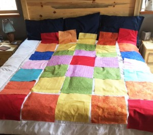 LilyPatchAudition 300x266 Kids are Quilting: 5 Things are Learned Teaching Kids to Quilt