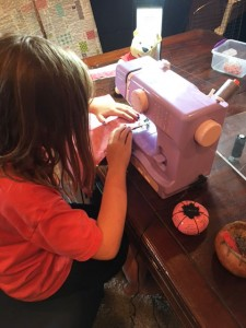 LilySewing 225x300 Kids are Quilting: 5 Things are Learned Teaching Kids to Quilt