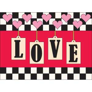 Little Love FREE Valentine Quilted Wall Hanging Pattern