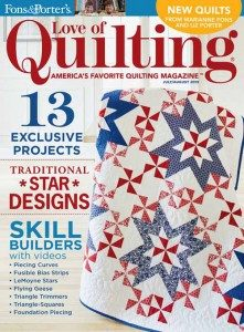 Love of Quilting July/August 2015