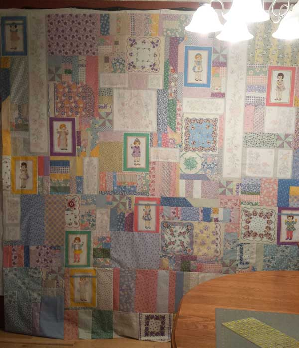 Lori6001 Quilt Design Wall Monday: 365 Challenge x 2!
