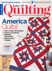 Love of Quilting July/August 2017 Cover