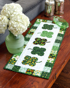 Luck O' the Irish Quilted Tablerunner Project