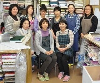 MC SQUARE STAFF PIC Checking out the Tokyo quilting scene