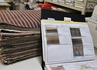 MC SQUARE TAUPE FABRIC SAMPLES Checking out the Tokyo quilting scene