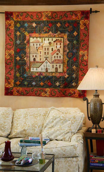 MCQP 090600 10 015436 SG1a 4831 House (Quilts) Beautiful