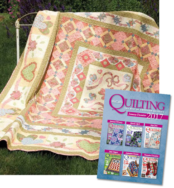 McCall's Quilting 2017 Collection CD