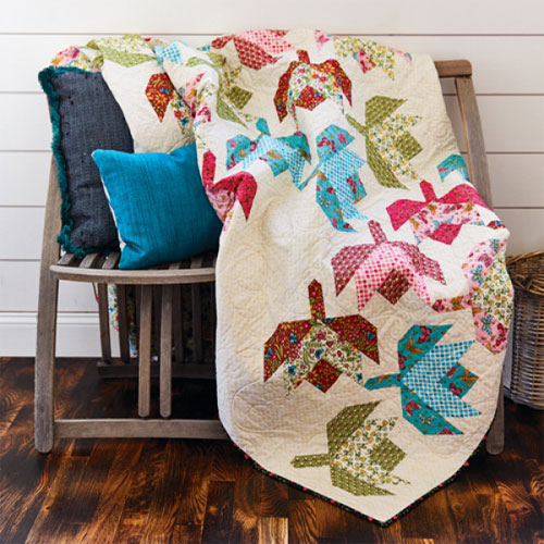 McCall's Quilting - Darling Buds of May Quilt Pattern Download