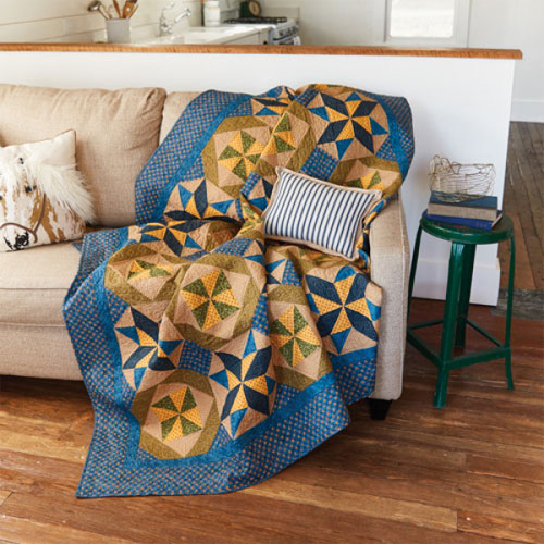 McCall's Quilting - Homeward Winds Quilt Pattern Download