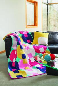 modern patchwork, modern quilt, curved piecing, gosia pawlowska