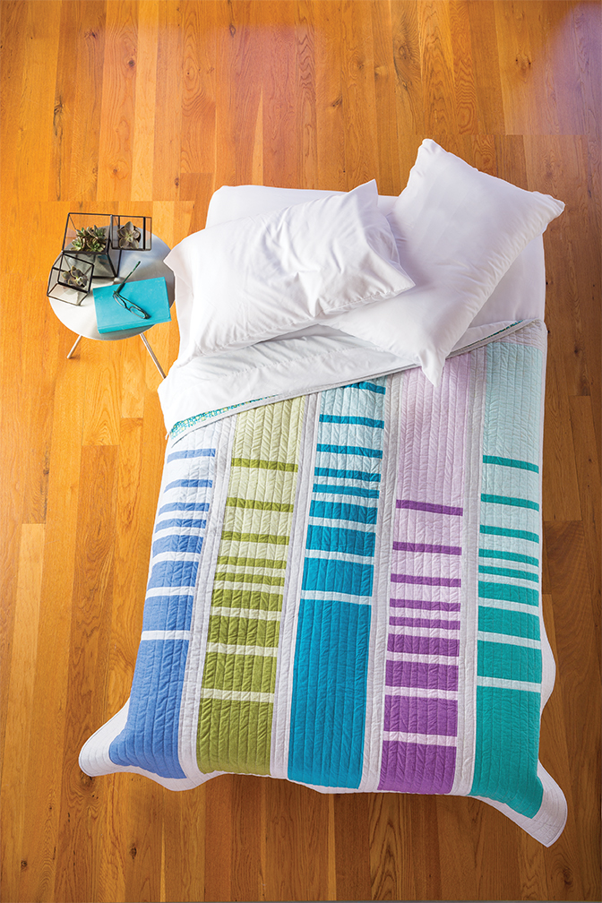 Frequency Quilt by Lisa Swenson Ruble