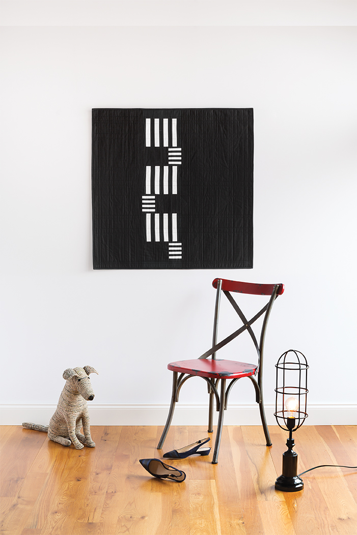 Fire Escape Quilt by Christopher Thompson
