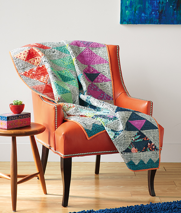 Line Art Quilt Pattern Holly Hickman : Modern patchwork fall quilting daily the