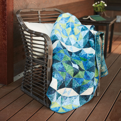 McCall's Quilting - Waterworks Quilt Kit