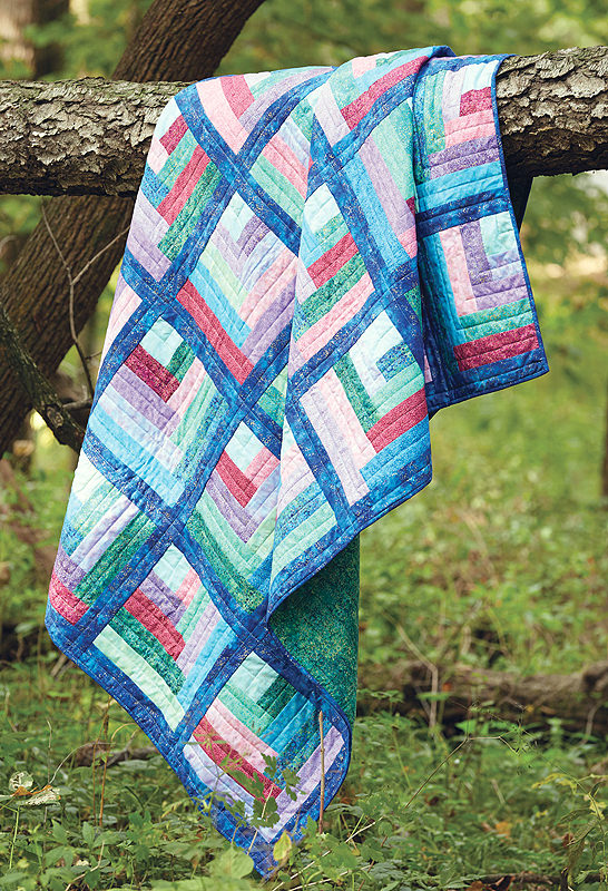 Maggie S Rainbow Quilt Fons Amp Porter The Quilting Company