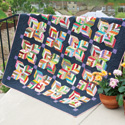 Maisy Daisy Scrappy Lap Quilt Pattern
