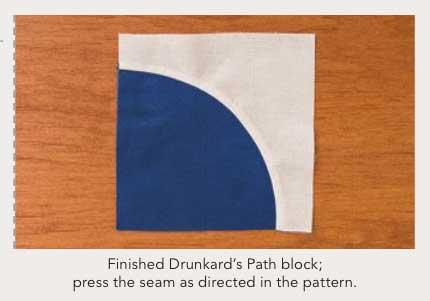 McCalls Drunkards Path unit A New Spin on Drunkards Path Blog Tour